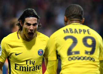 Mbappé and Cavani at the double as PSG swagger to victory
