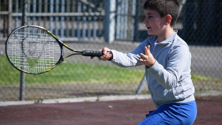 cómo conseguir un gran tamaño de tenis