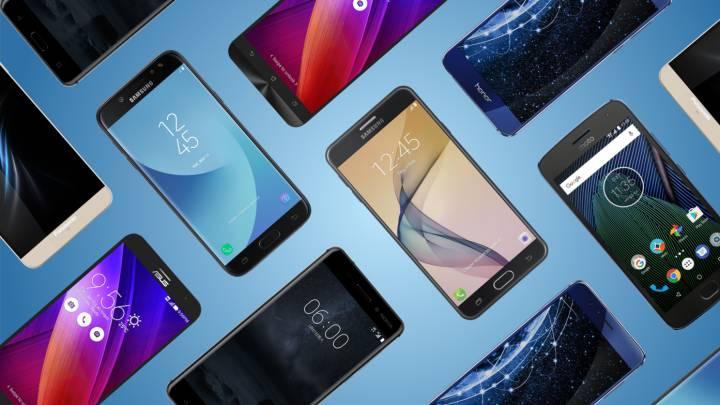 09e7cc1d2 Los mejores móviles gama media entre 200 y 500 euros Los mejores ...