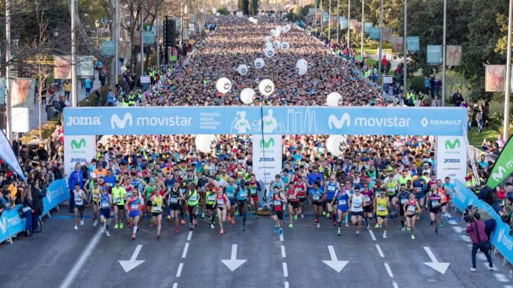 hidratacion para media maraton