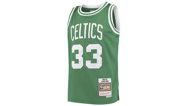 Maillot rétro Larry Bird NBA
