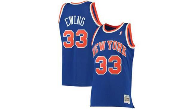 Maillot rétro de la NBA Pat Ewing.