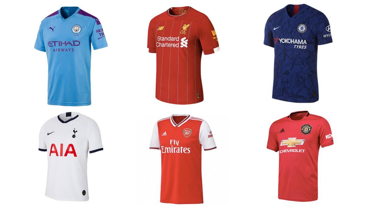 Premier League: equipaciones para esta temporada 19/20 ...