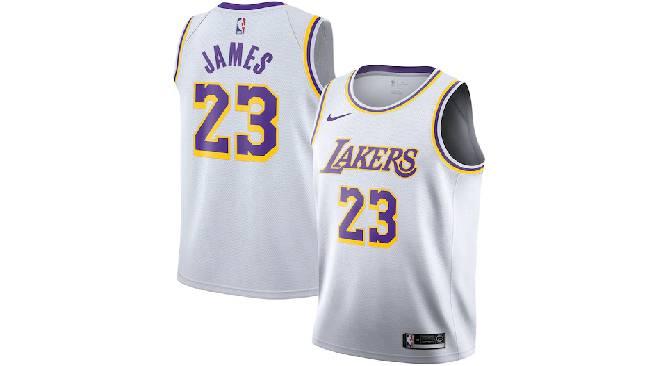 Best selling NBA jerseys