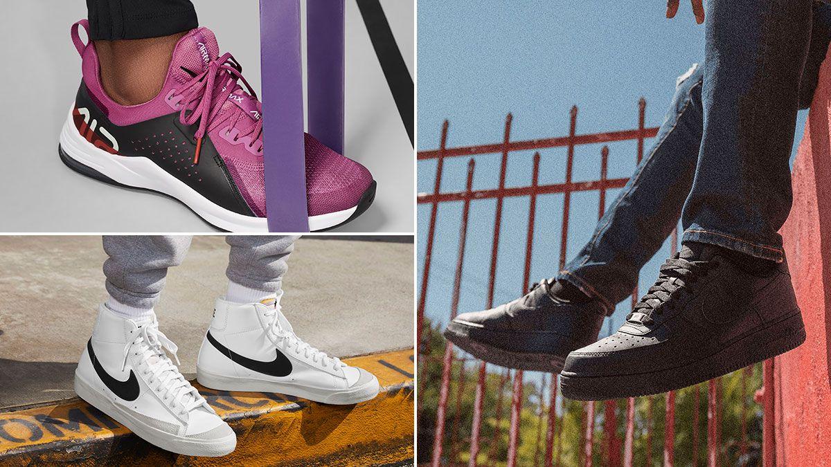 capa simpático acantilado  Reunimos las zapatillas top ventas de Nike para toda la familia por menos  de 100 euros - AS.com