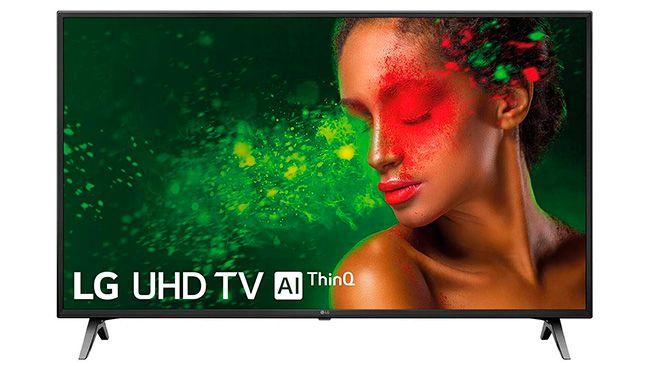 Smart TV LG Serie 7 UN7100 de 43 pulgadas