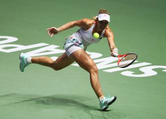 Angelique Kerber - Dominika Cibulkova: Resumen Final WTA Finals