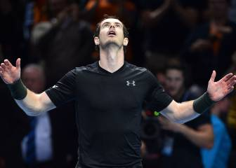 Murray levanta un match-point y se aferra al número uno