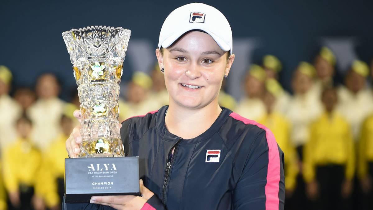 La australiana Ashleigh Barty gana su primer título WTA
