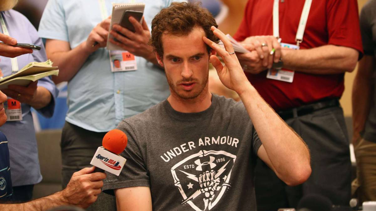 Murray confiesa su asombro por el sorteo en Indian Wells