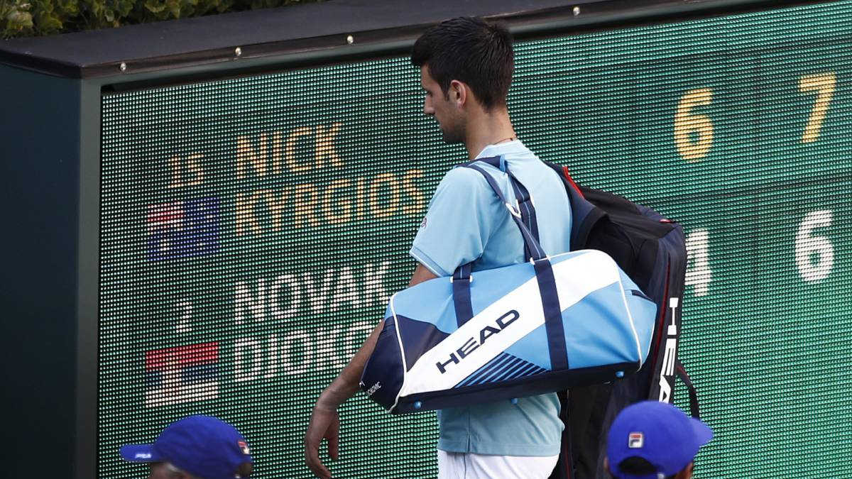 Djokovic pulls out of Miami Open with elbow injury