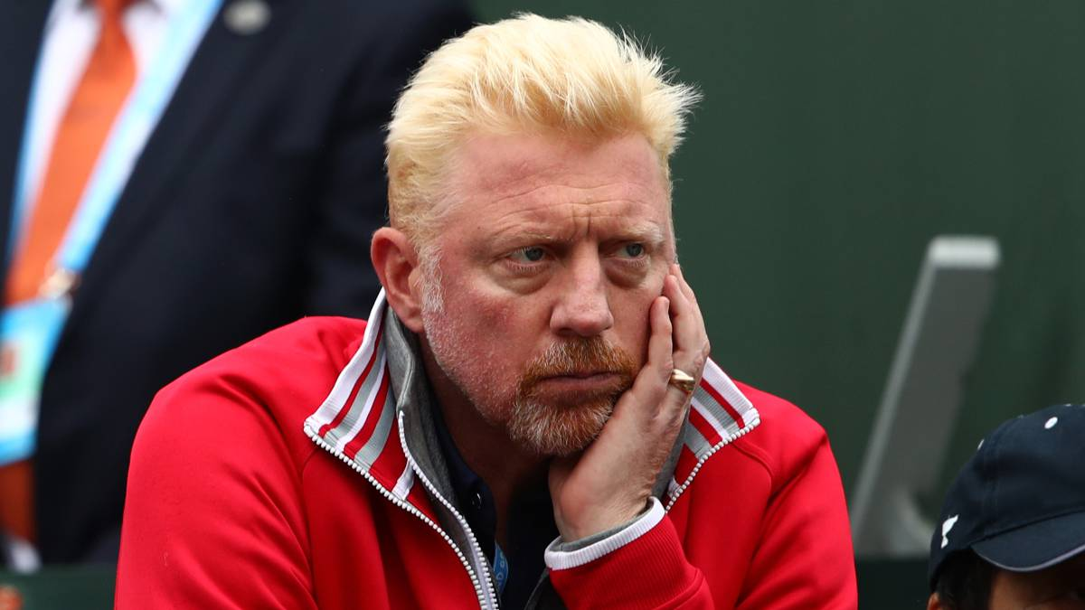 Former Wimbledon champion Boris Becker, declared bankrupt