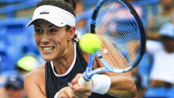 garbiñe Muguruza, contra Madison Keys.
