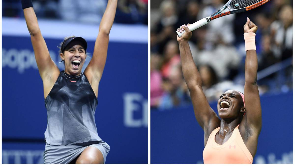 Madison Keys y Sloane Stephens.