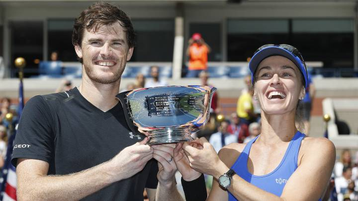 Jamie Murray y Martina Hingis.