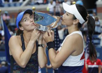 Martina Hingis suma y sigue: 13º Grand Slam en dobles