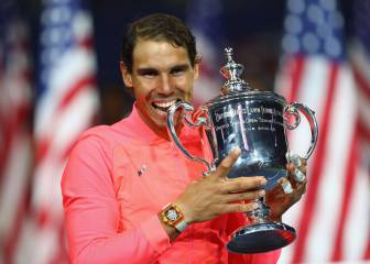 Rafa Nadal claims his third US Open title