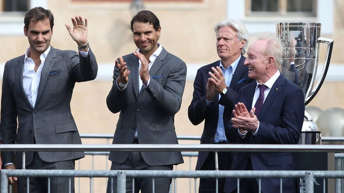 ¿Qué es la Laver Cup que suma 54 Grand Slam? Nadal, Federer...