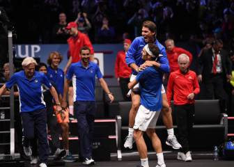 Federer leads Team Europe to Laver Cup victory in Prague