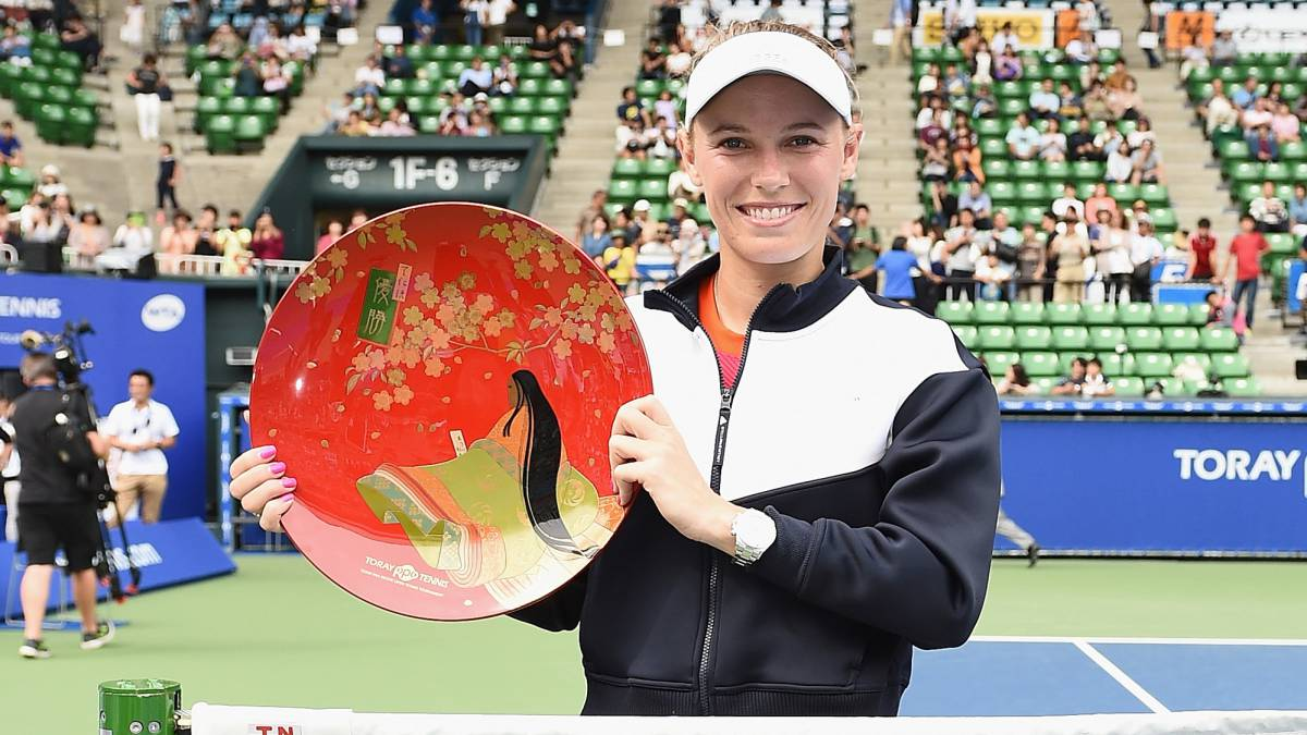 Wozniacki, la celebrity danesa ganó su primer título de 2017