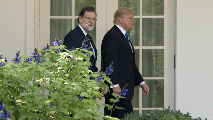 Donald Trump tells Mariano Rajoy that Rafael Nadal is a \