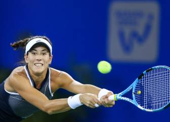 Ostapenko sinks Muguruza for place in Wuhan semi-finals