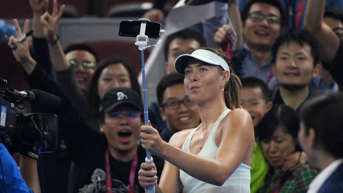 Sharapova saca las uñas en Pekín y Garcia gana Wuhan