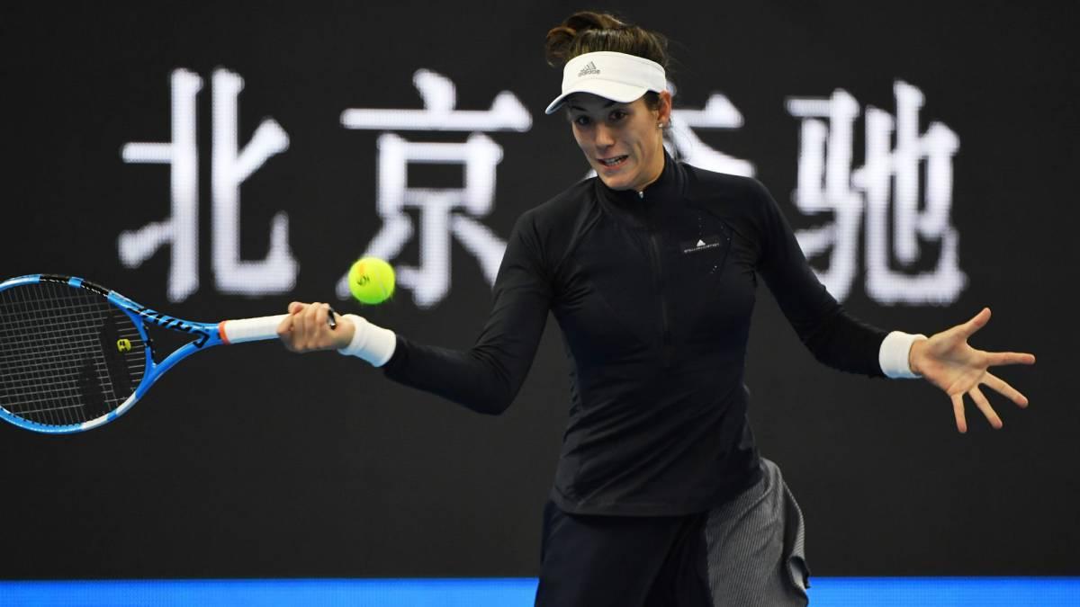Garbiñe Muguruza quiere terminar el año como número 1 WTA.