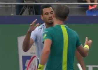 Kyrgios fined for storming off court in Shanghai Masters