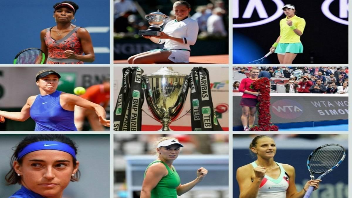 Las ocho contendientes para las WTA Finals