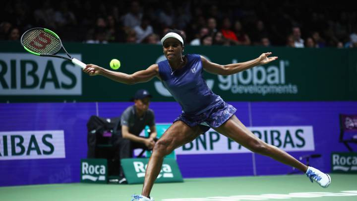 Venus jugará la final con 37 años y 18 después de su debut