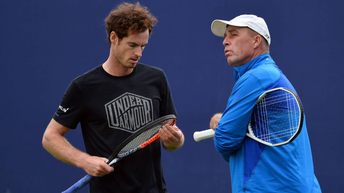 Andy Murray e Ivan Lendl.