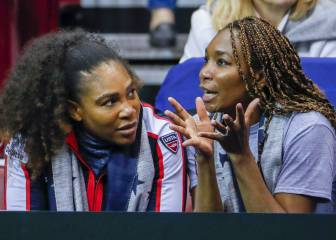 Venus Williams se pone a mil junto a su hermana Serena