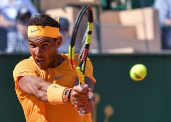 Nadal consigue un break