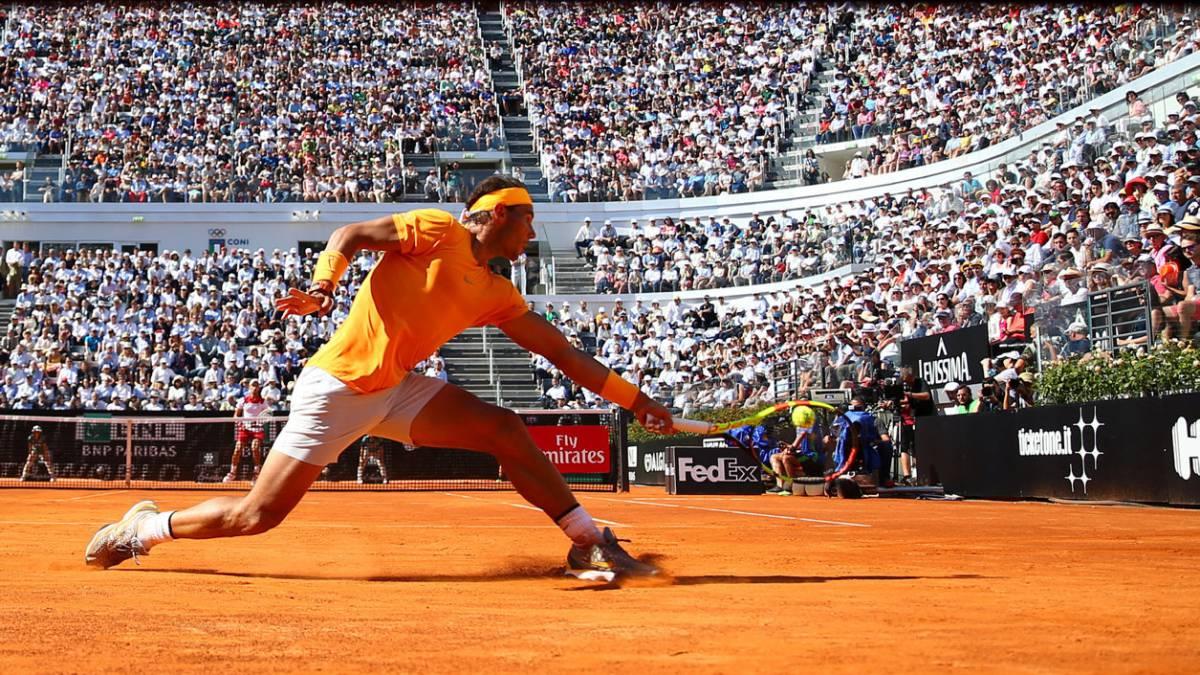 Rafa Nadal y Novak Djokovic.