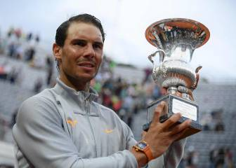 Rafa Nadal: eighth Rome title and back to world number one