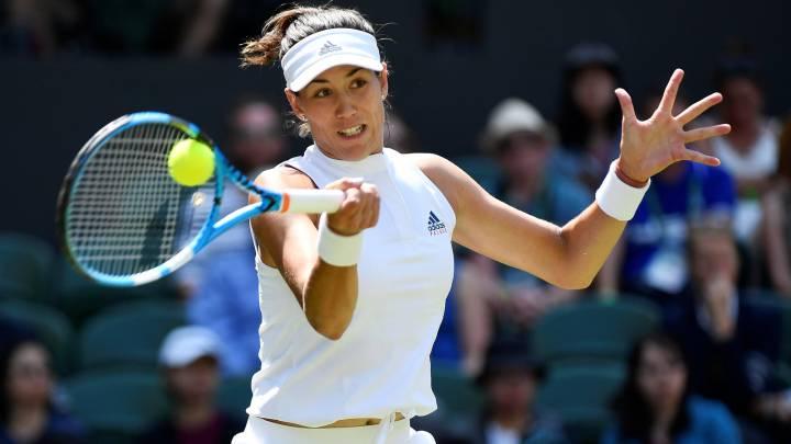 Resumen y resultado del debut de Muguruza en Wimbledon: Muguruza empieza fuerte
