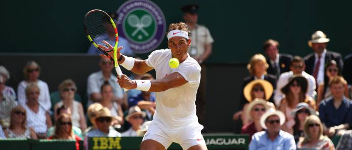 Nadal - Vesely en directo: octavos de Wimbledon 2018 en vivo