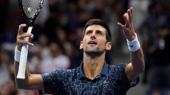 Novak Djokovic US Open 2018