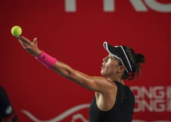 La china Wang remonta y aparta a Muguruza de la final