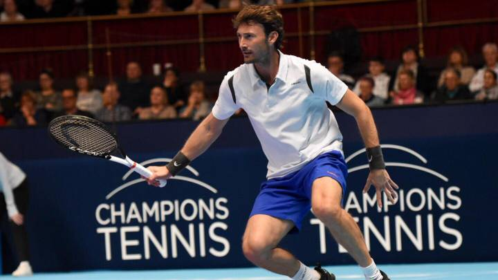 Juan Carlos Ferrero, en el Royal Albert Hall