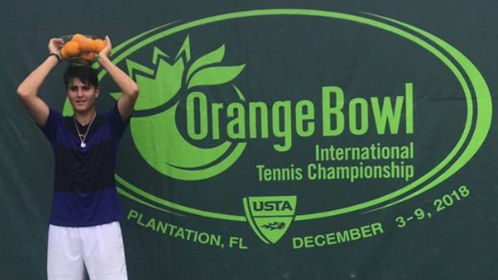 Pablo Llamas, campeón de la Orange Bowl