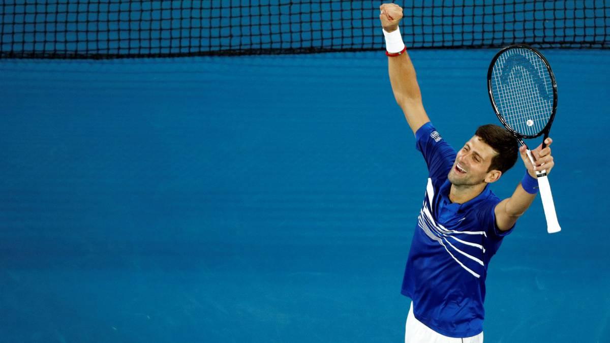d6a44881a0 Djokovic barre a Pouille y se planta en la final ante Nadal
