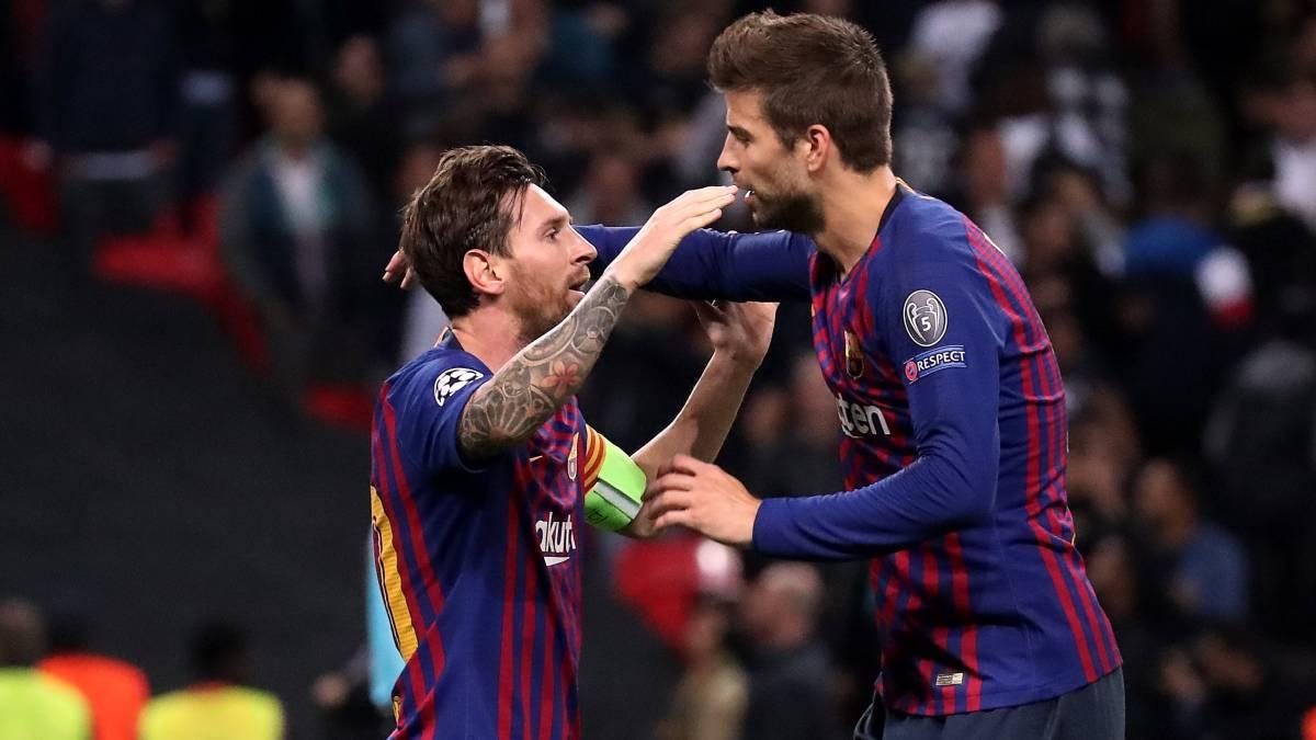 Gerard Piqué está a la espera de que Messi fiche con Barcelona; asegura que no lo han convencido para continuar