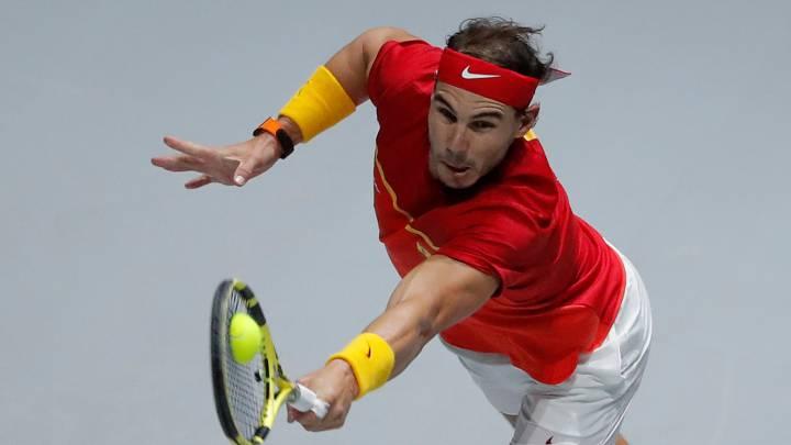 España - Canadá en directo: final de la Copa Davis, Nadal vs Shapovalov