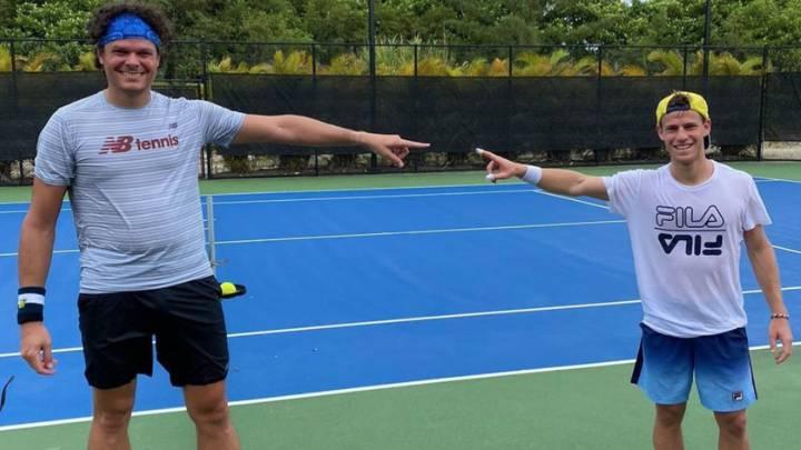 Raonic Sorprende Al Mundo Del Tenis Con Su Cambio Fisico As Com