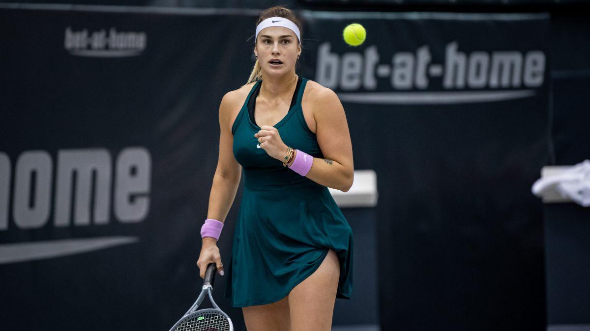 Aryna Sabalenka hace bueno el ranking y se lleva el título en Linz tras derrotar en la final a la belga Elise Mertens