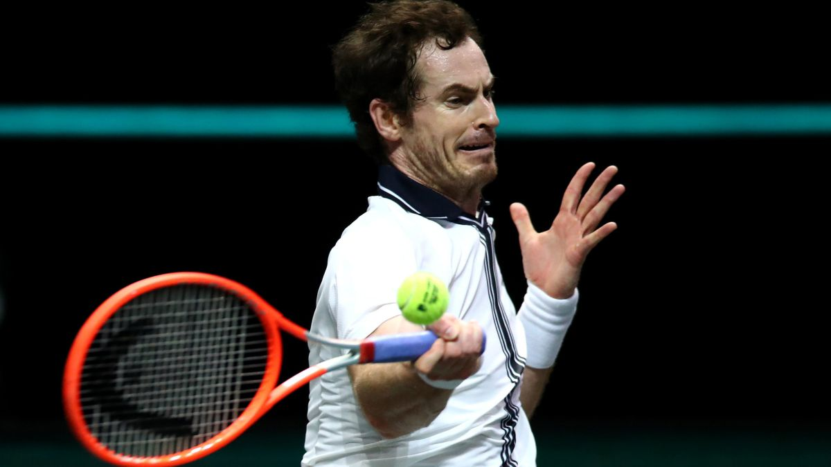 Rublev amenaza a Murray en segunda ronda de Rotterdam