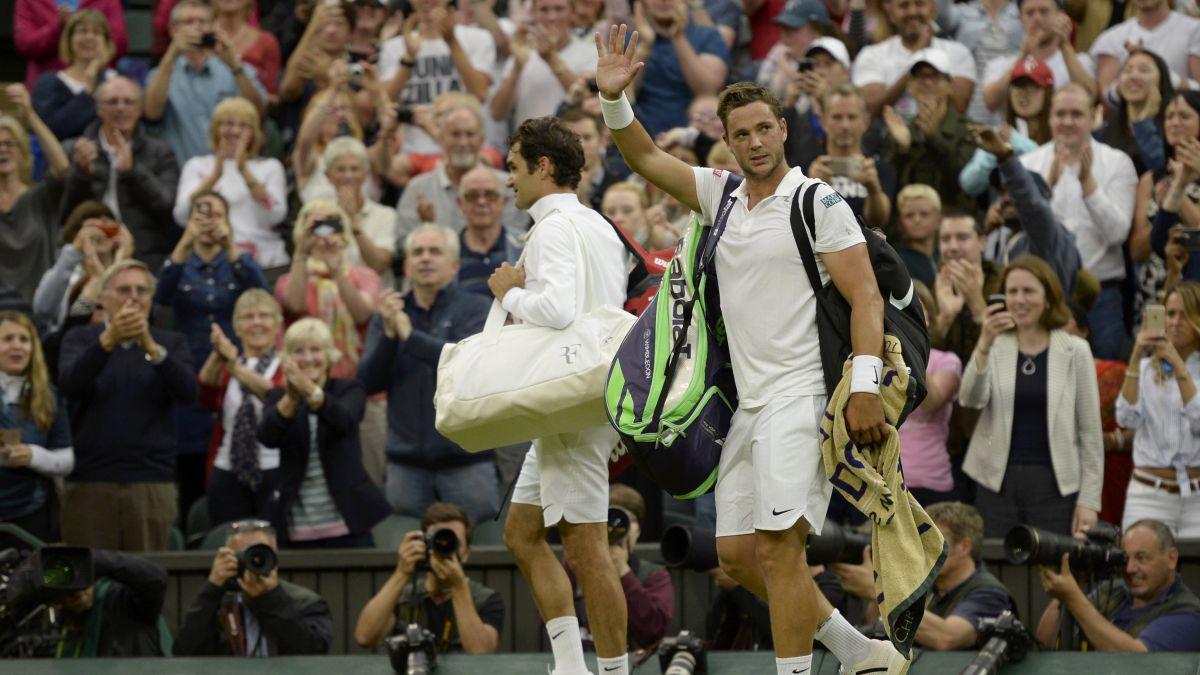 Marcus Willis, de jugar contra Federer a trabajar en una obra
