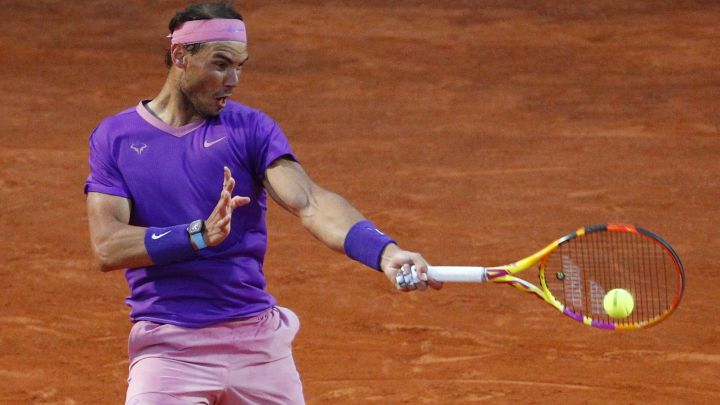 Check what time Rafa Nadal is playing today in his round of 16 match at the 1000 Masters in Rome and how to watch it on television or follow it online.